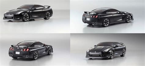 Mini Z Auto by Kyosho Mzp411bk Mini Z Auto Scale Collection Asc Nissan