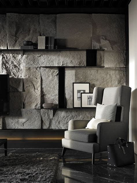 stone wall tiles for living room pin 8 a statement making stone wall in the living room i