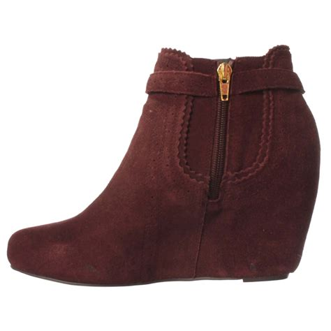 dolce vita dv by parkers wedge boot in purple lyst