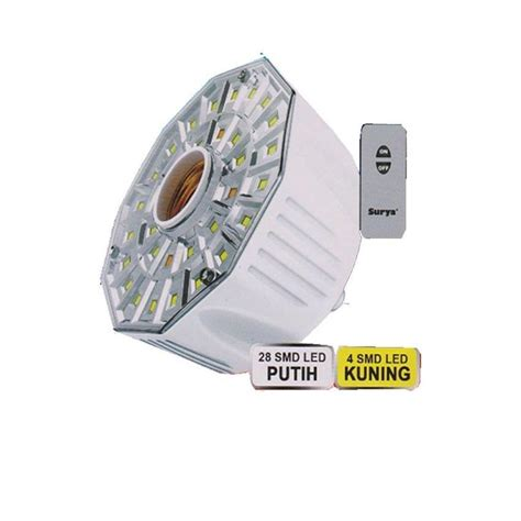 Lu Emergency Surya Sre L Rc jual fitting lu led harga murah distributor beli