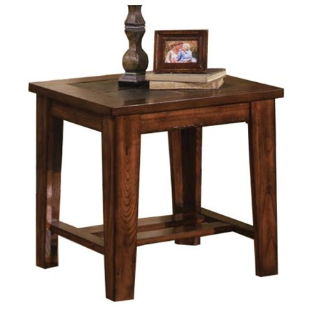 slate top end table greenpoint antique oak slate top end table