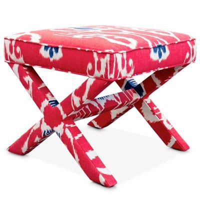 pink x bench ikat decor by color