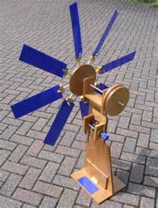 Handmade Windmill - ideas wooden water cooler stand plans