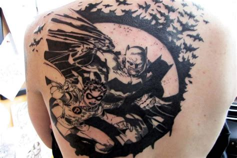 batman tattoo awesome back tattoos and designs page 636