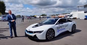 bmw i8 safety car in in uruguay