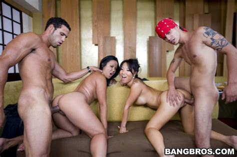 Orgy fuck with cumshots