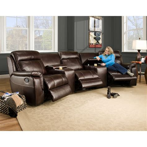 room recliners melrose home theater living room laf armless and raf power recliner 2 wedges power 86219