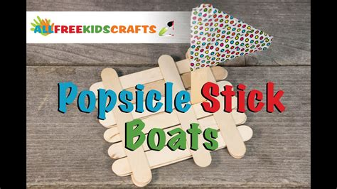how to make a boat using craft sticks how to make popsicle stick boat youtube