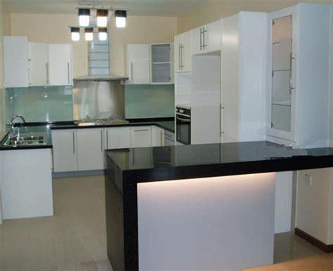 design dapur apartment contoh reka bentuk kabinet dapur desainrumahid com