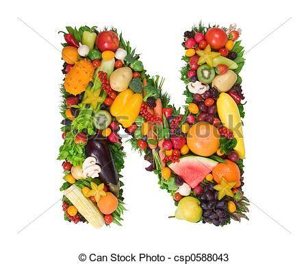 vegetables 9 letters photos de alphabet sant 233 lettre n fait de frais