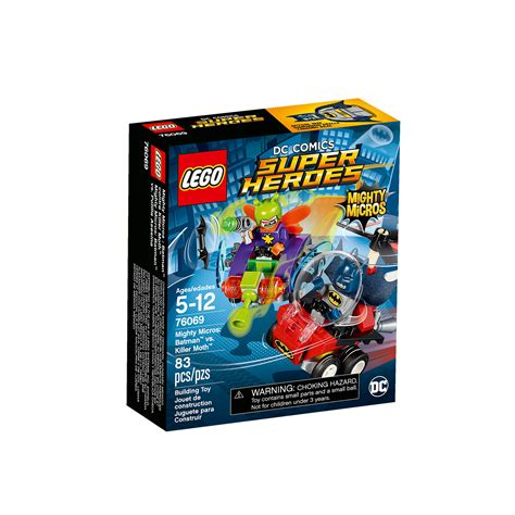 Sale Lego Dc Comics Heroes The Vs The Abilisk 1 lego 76069 dc comics heroes mighty micros batman vs killer moth at hobby warehouse