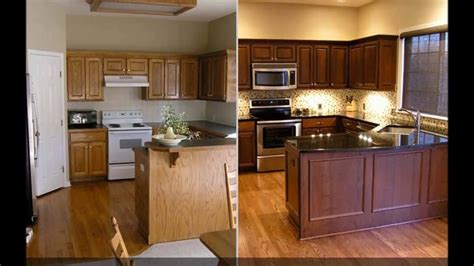 youtube refinishing kitchen cabinets 31 kitchen cabinet refacing ideas before and after youtube