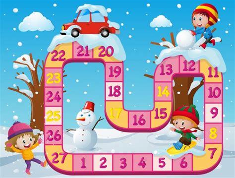 giochi da tavolo gratis da scaricare modello di gioco da tavolo con i bambini nella neve