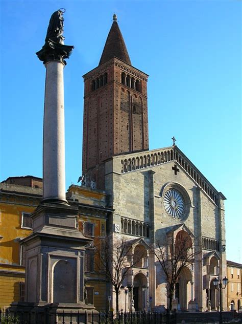 In Piacenza by Piacenza Cathedral