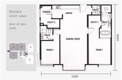 piano floor plan review for jazz residence seri tanjung pinang propsocial
