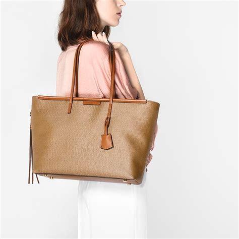 Tas Wanita Charles And Keith Black tas wanita charles and keith textured tote camel bag