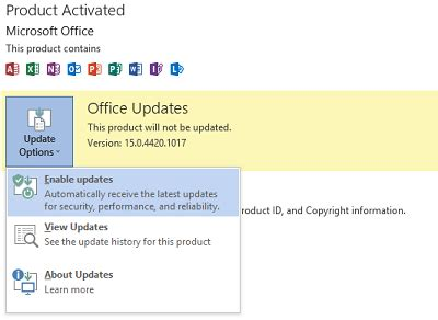 visio 2013 update how to update office 2013 manually