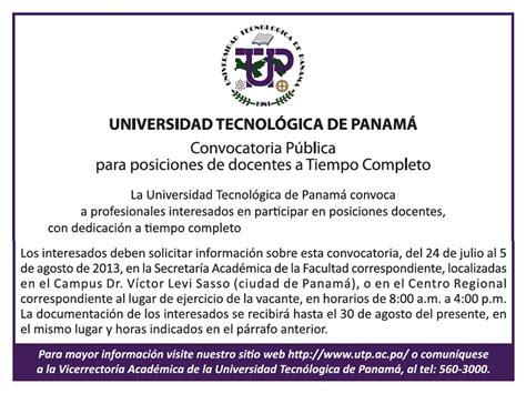 convocatoria hasta el 20 de enero de 2013 para convocatoria p 250 blica para posiciones de docentes tiempo