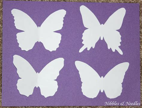 butterfly paper cut out template printable printable butterfly cut out pattern