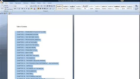 novel layout in word how to format a novel in word the prequel youtube