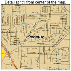 decatur alabama map 0120104