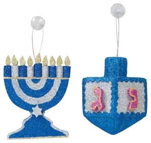 glitter hanukkah decorations