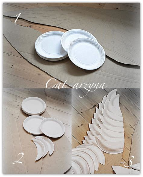 How To Make Wings Out Of Paper - cat arzyna skrzyd蛯a