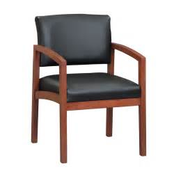 wood guest reception chair office furniture ez