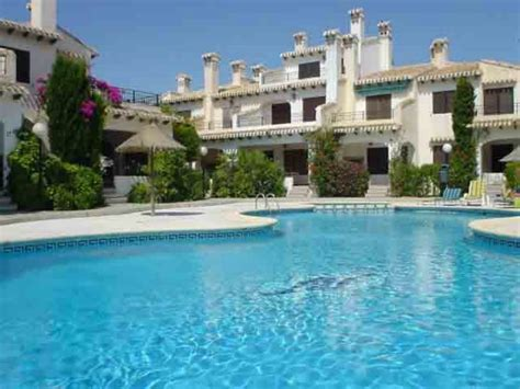 3 Bedroom Duplex villa to rent in cabo roig spain with pool 85221