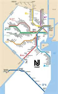 Nj Transit Light Rail Schedule Nj Transit Rail Lines Map