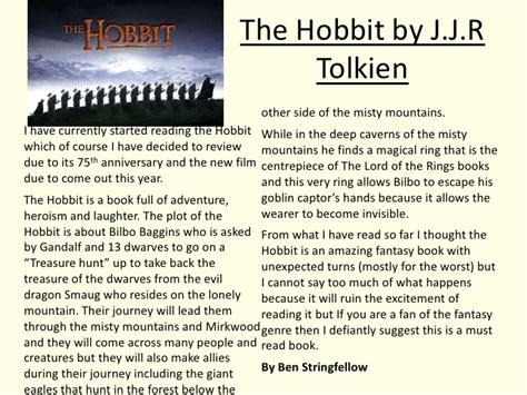 the hobbit book report the hobbit book report dgereport77 web fc2