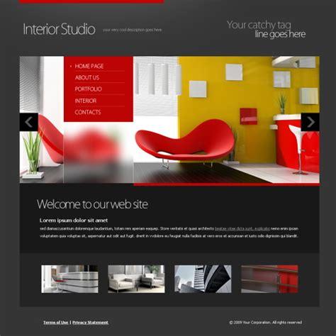 5914 Flash Interior Furniture Flash Templates Dreamtemplate Furniture Design Websites Templates