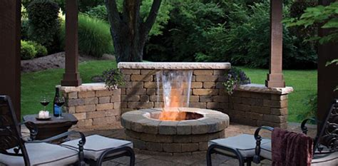 Garden Fireplaces by Fireplace Designs Outdoor Fireplace Designs