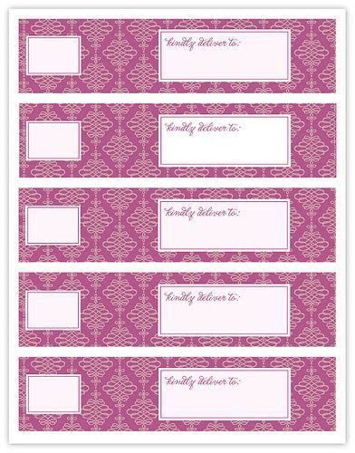 free printable envelope wraps wrap around envelope labels love these free printable