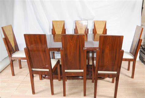 art deco dining set table  chairs suite  furniture tables