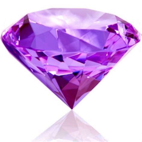 Home Decor Pottery by 10cm 100mm Purple Glass Crystal Diamond Round Shape Cut
