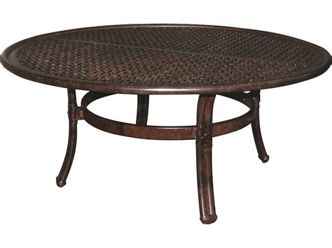 Table Ready by Castelle Resort Cast Aluminum 42 Coffee Table Ready