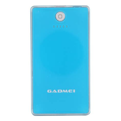 Power Bank Wellcomm Lithium 5200mah gadmei 5200mah lithium polymer fast charging power bank