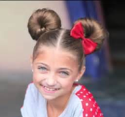 Flawless buns ideas for little girl s hairs trendy mods com