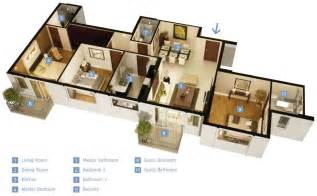 3 Bedroom House Designs Pictures by Single Story 3 Bedroom House Interior Design Ideas