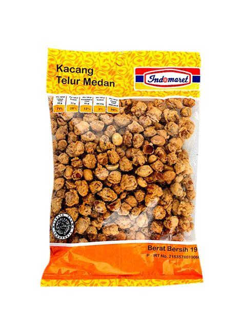 Kacang Telor Medan indomaret snack kacang telur medan pck 190g klikindomaret