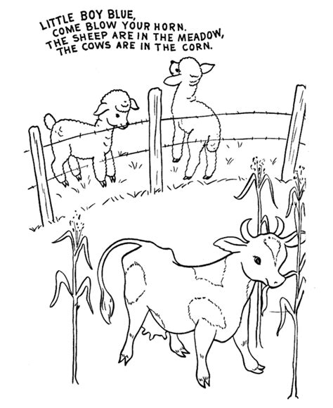 lyrics to coloring book kartel nursery rhymes with pictures az coloring pages