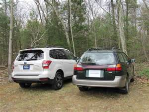 Difference Between Subaru Outback And Forester Subaru 2014 Forester Versus Outback Autos Weblog