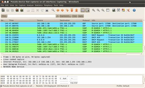 wireshark tutorial linux command line 5 linux network monitoring tools ping and etherape