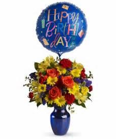 birthday bouquet fly away birthday bouquet vogts flowers flint flushing davison grand blanc florist fenton michigan