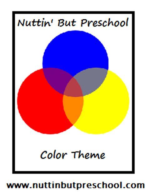 color theme nuttin but preschool