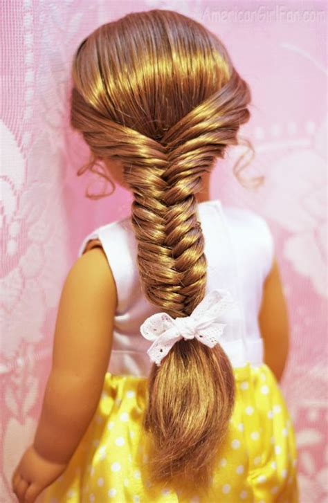easy hairstyles with box fishtales 17 best images about ag hairstyles on pinterest doll