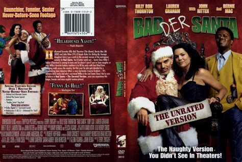 unrated video bad santa unrated r1 scan movie dvd scanned covers