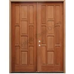 Doormat For Double Doors Ash Wood Double Door Hpd415 Main Doors Al Habib Panel