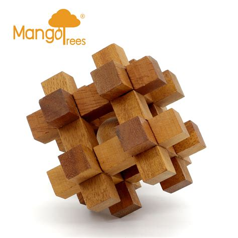 jo in rubber puzzle m 12 puzzle high quality rubber wood wooden 3d brain